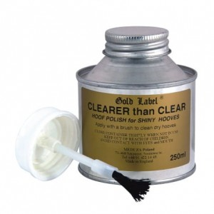 """Clearer Than Clear"" 250ml lakier do kopyt"