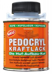 """Pedocryl Kraftlack"" 250ml lakier do kopyt"